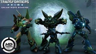 Скачать Transformers Prime Galvatron S Revenge Trailer FAN MADE