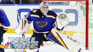 Jordan Binnington wins Save Streak competition | 2020 NHL All-Star Skills | NBC Sports
