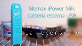 Recensione USB charger iPower Milk Momax