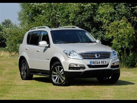 ssangyong rexton w 2015 car review youtube. Black Bedroom Furniture Sets. Home Design Ideas