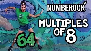 8 Times Tables Song | Skip Counting by 8 With Multiplication