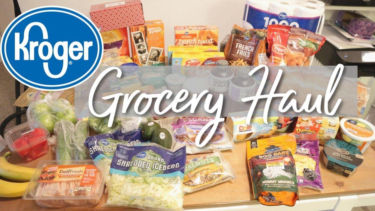 Weekly Grocery Haul Meal Plan Kroger Keto Grocery Haul Youtube