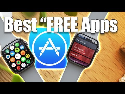 "Top 10 ""DOPE Free Apple Watch Apps! 2020"