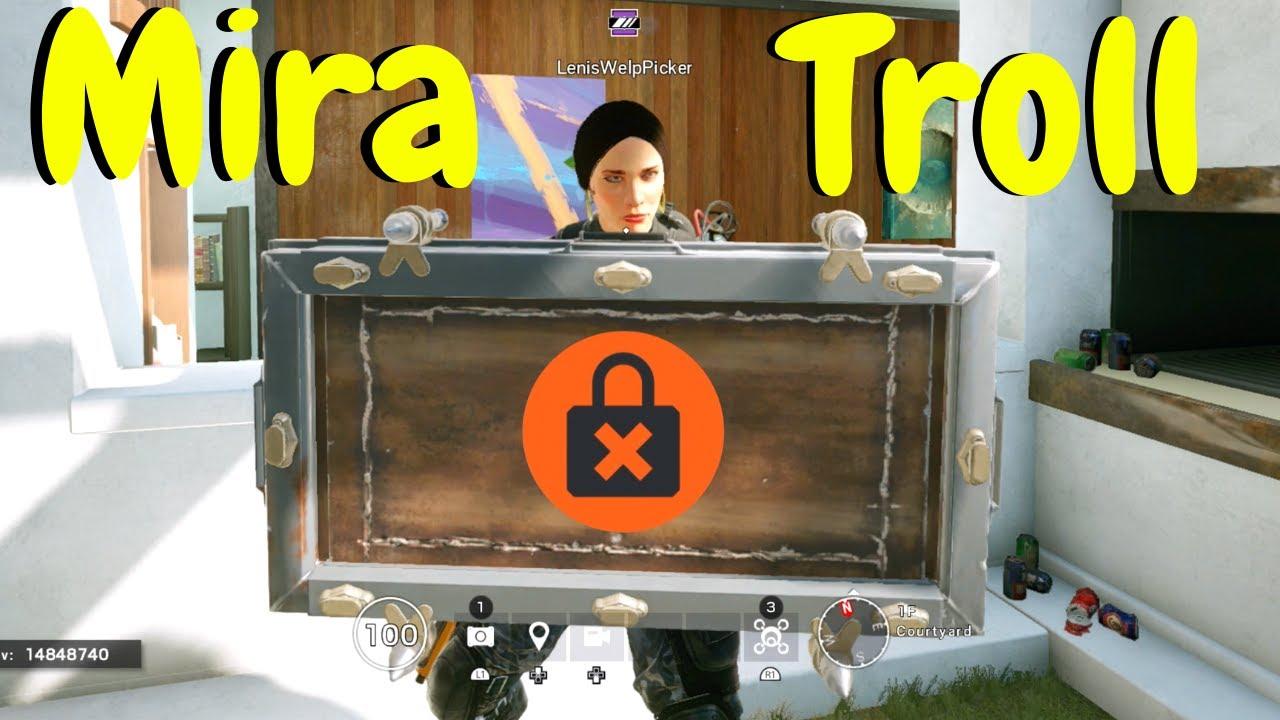 Mira Trolling in Rainbow Six Siege