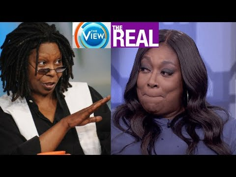 Loni Love CLAPS BACK at Whoopie and THE VIEW for saying The Real COPIED them! Jealousy over EMMY WIN