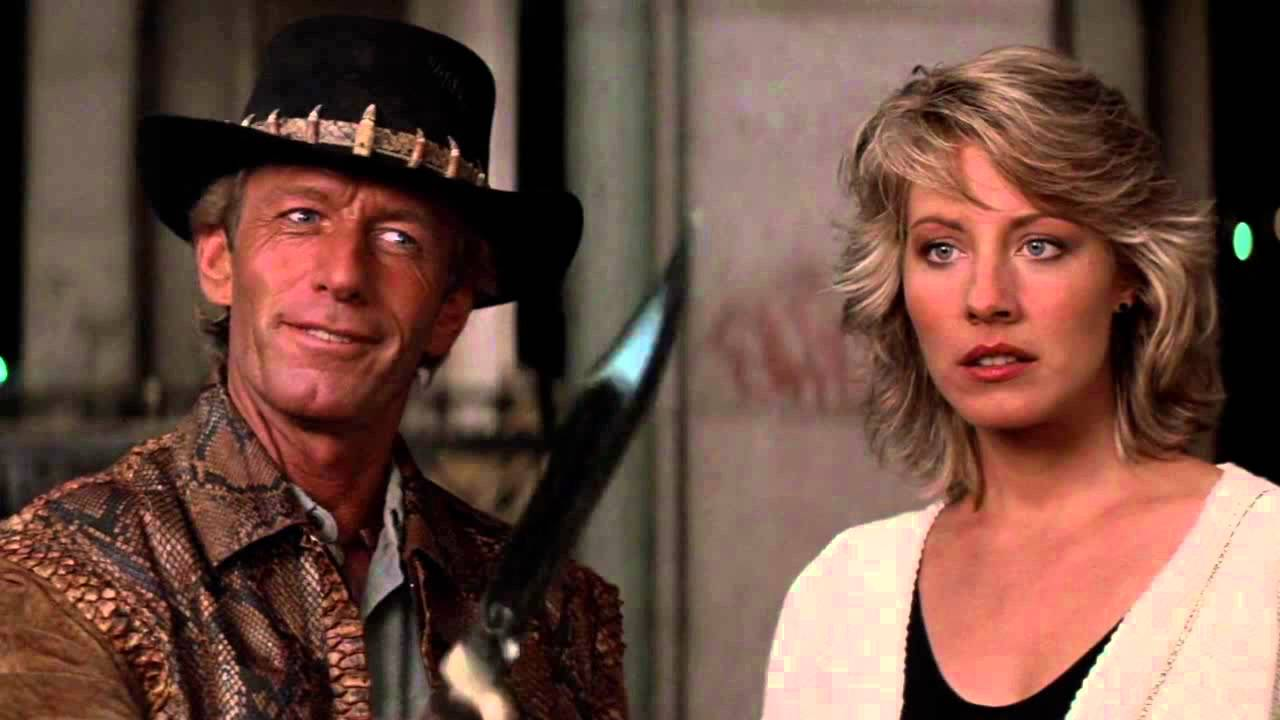 Crocodile Dundee - That is not a knife scene