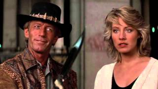 Crocodile Dundee - That is not a knife scene!