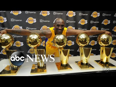 Kobe Bryant's career on the court