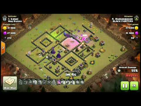 TH9 FULL COVER | WAR ATTACK | WATCH NOW