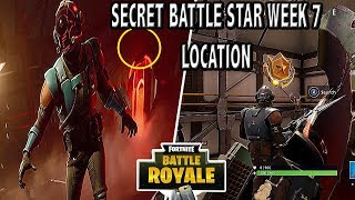 GET FREE TIER | SECRET BATTLE STAR (LOCATION) WEEK 7 - FORTNITE SEASON 4 WEEK 7