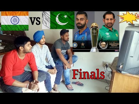 Indian Public Reaction on India VS Pakistan Final Match Champions Trophy 2017