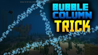 How to make TILTED Bubble Columns!!! Command blocks trick Minecraft PE 1.7.0.2 / 1.5.3