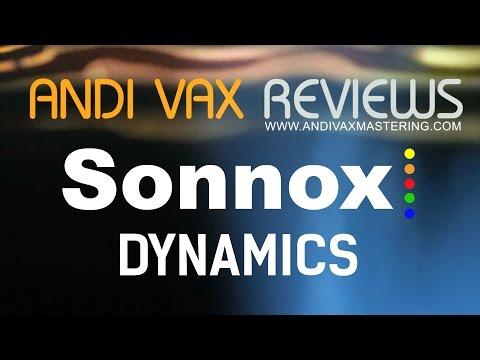 AVR 035 - Sonnox DYNAMICS