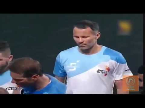 Ryan Giggs|| Skills and Goals|| Indian premier Futsal League