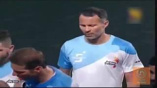 Ryan Giggs   Skills and Goals   Indian premier Futsal League