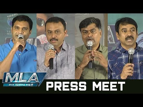 Kalyan Ram MLA Movie Pressmeet | Kalyan Ram | Kajal Aggarwal | People Media Factory
