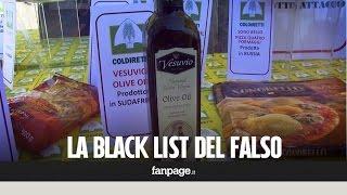Prodotti italiani: la Coldiretti denuncia la black list del falso e dei prodotti importati