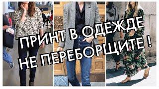 ПРИНТ В ОДЕЖДЕ - НЕ ПЕРЕБОРЩИТЕ!