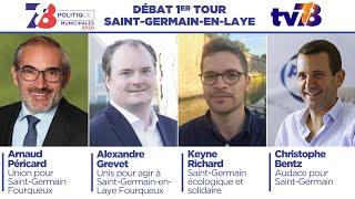 MUNICIPALES 2020. Saint-Germain-en-Laye. DÉBAT DU 1ER TOUR.