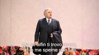 Plácido Domingo sings Di Provenza il mar, il suol