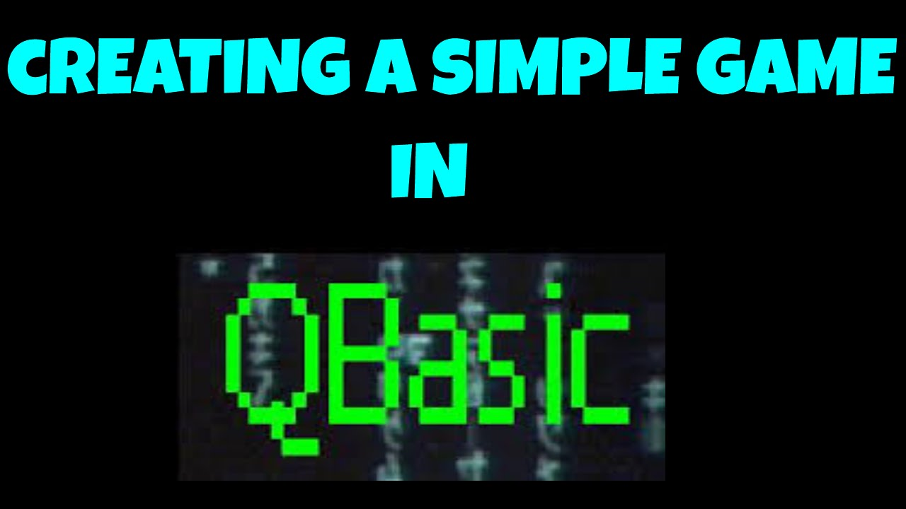 Creating a Simple Game in QBasic
