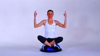 Muscle ton swing : centrage du corps et respiration