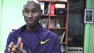 Bernard Lagat Speaks About The Armory