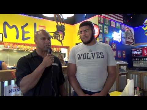 Brandon Glenn Interview 2013 Taco Eating Contest