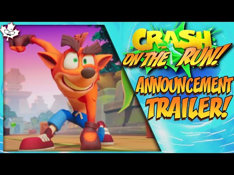 Crash Bandicoot: On the Run! ANNOUNCEMENT TRAILER + MORE!! from YouTube · Duration:  7 minutes 29 seconds