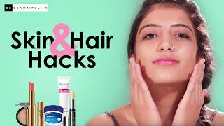 Skin And Makeup Hacks   BeBeautiful