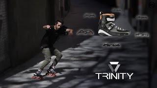 Nick Lomax on TRINITY - Powerslide Urban Inline Skate frames & Tau Trinity boot 520000