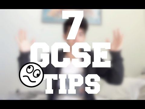 My Tips To Pass GCSEs