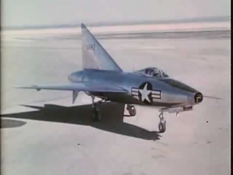 Confidential US Air Force Film - Convair 7002 Jet Airplane - Flight & Research Tests Video