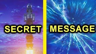 FORTNITE: message vocal secret dans le ciel (très effrayant)