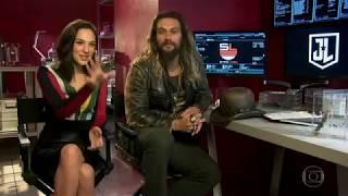 Liga da Justiça: Entrevista ao Fantástico [HD] (Dublada)