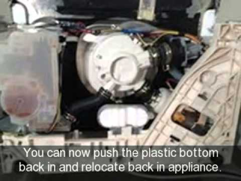 How To Change The Heater Element On A Dishwasher Youtube