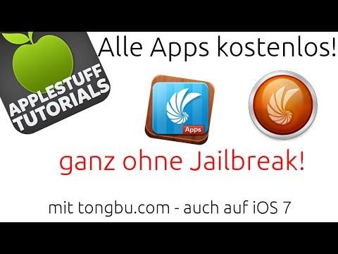 Alle Apps kostenlos! Ohne Jailbreak! auch iOS 7 - tongbu.com (Deutsch,HD)