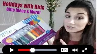 """Gambar cover Christmas Gifts, Holidays with kids on """"The Break 4 Moms""""  12.5.16"""