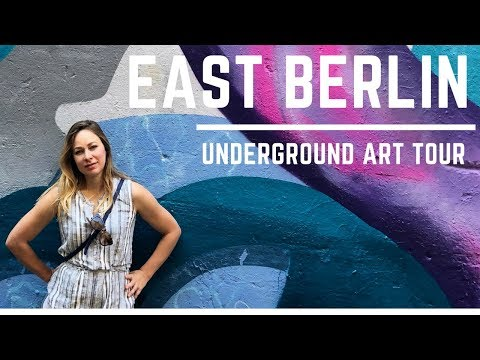 BERLIN ALTERNATIVE TOUR (nightlife, street art, music) - 2018 vlog