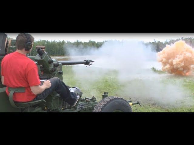 40 mm Makinalı Tüfek !!!