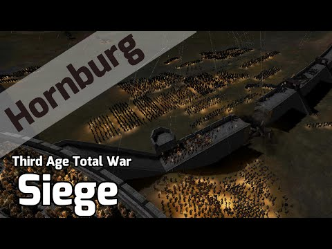 SIEGE OF HELMS DEEP - Third Age Total War