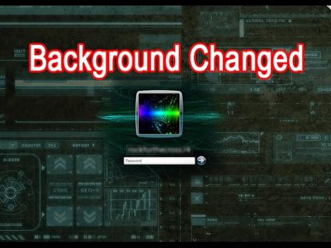 How To Change Windows 7 8 10 Logon Screen Background Easily Youtube