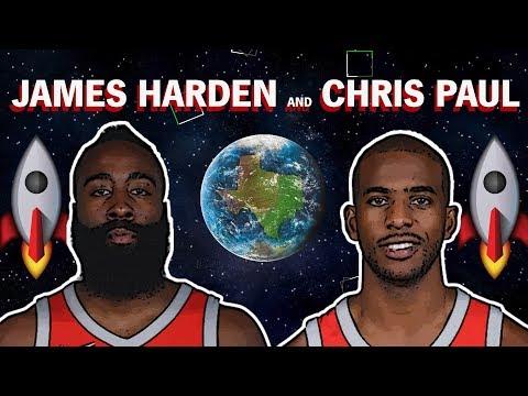 NBA Relationship Goals: James Harden and Chris Paul   The Ringer