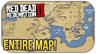 Red Dead Redemption 2: ENTIRE MAP CONFIRMED! (MEXICO RETURNS!)