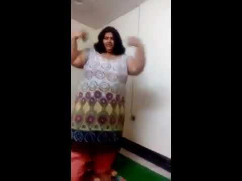 new funny dance moti aunty full Riva riva bhoom - YouTube
