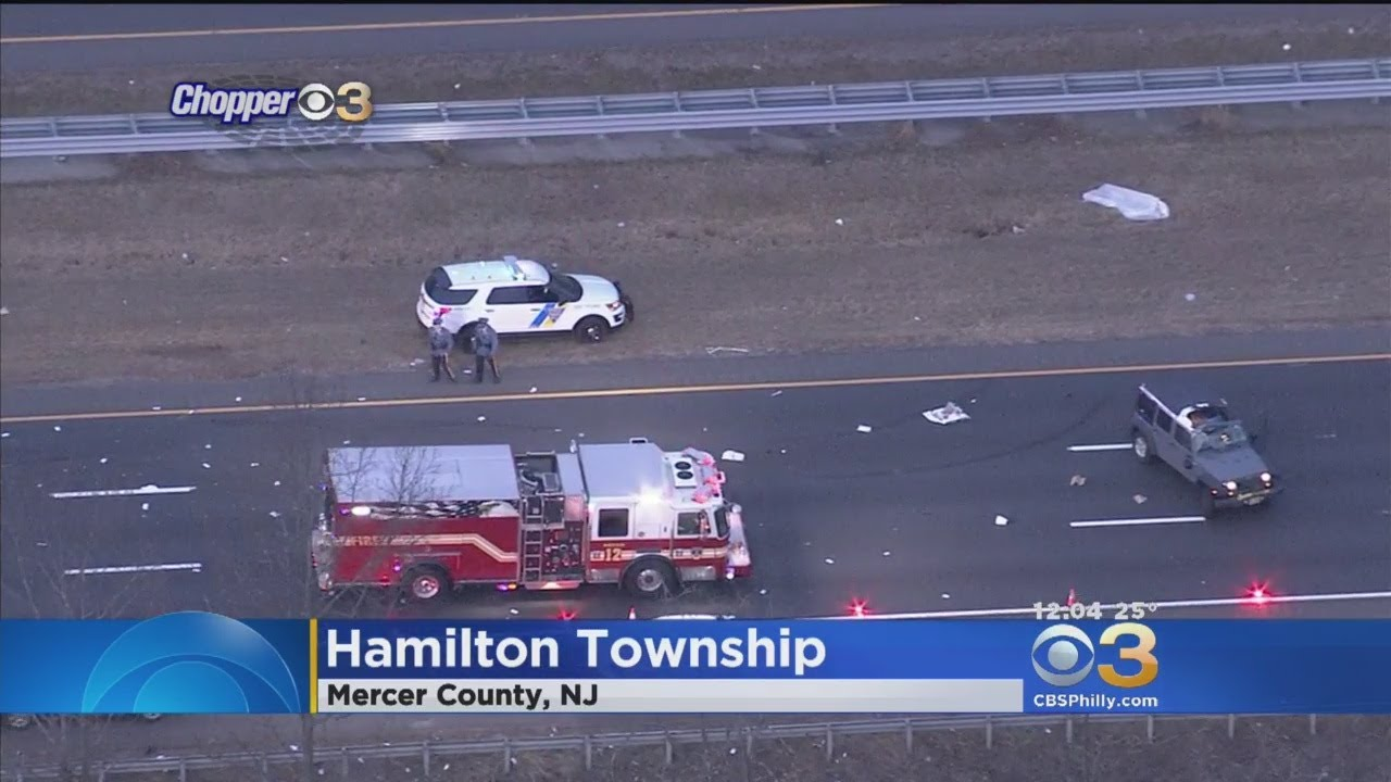 Deadly Crash Causes Hours Of Delay On I-295 Northbound In Mercer County