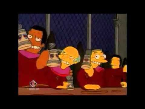 The Simpsons: Stonecutters Song