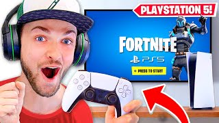 *NEW* PS5 Fortnite GAMEPLAY! (NEXT-GEN Playstation 5)