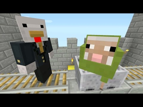 Minecraft Xbox - Sky Den - Sheep Shuttle (66)