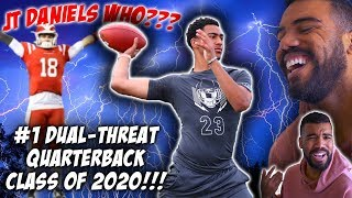 *NEW* Mater Dei Quarterback Might Be Better Than JT Daniels!!!- Bryce Young Highlights [Reaction]